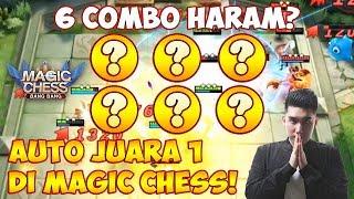 COMBO TERHARAM! AUTO JUARA 1 di MAGIC CHESS!