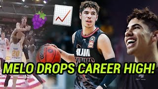 LaMelo Ball Drops CAREER HIGH & Shows Off BIG JELLY! Proves He's The Most Talented In 2020 NBA DRAFT
