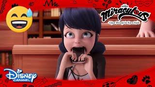 Mucize: Uğur Böceği ile Kara Kedi   Marinette Çıldırıyor 😅   Disney Channel TR