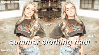SUMMER TRY ON CLOTHING HAUL | FOREVER 21, URBAN OUTFITTERS, + MORE