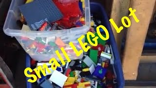 Small Lego Lot At Storage Building