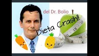 dieta crash del dr bolio