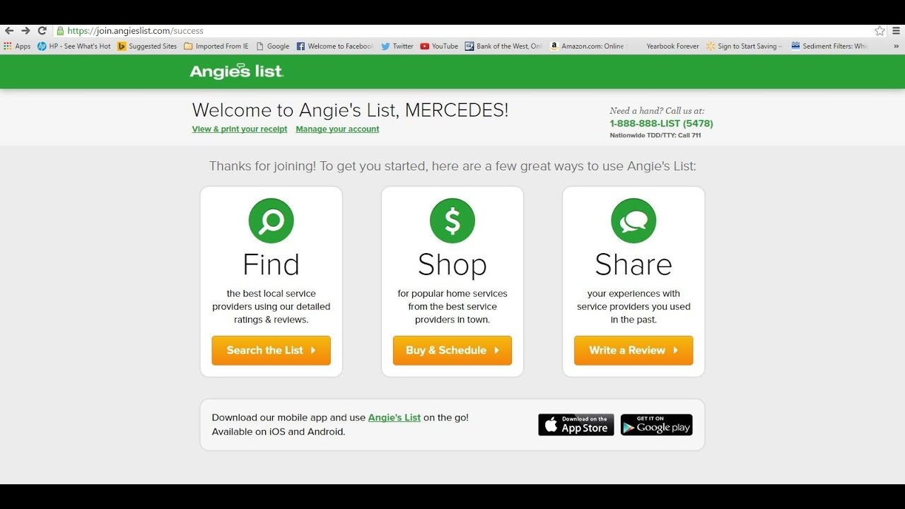 Angie's List Or Home Advisor - Who Delivers What It Says It Does?