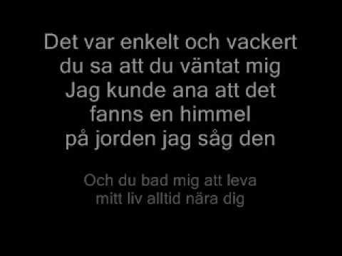 Åsa Jinder Av längtan till dig lyrics