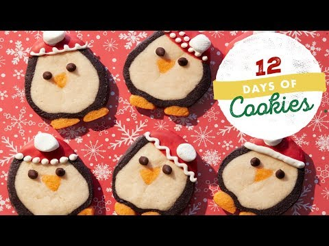 Penguin Slice-and-Bake Cookies | Food Network