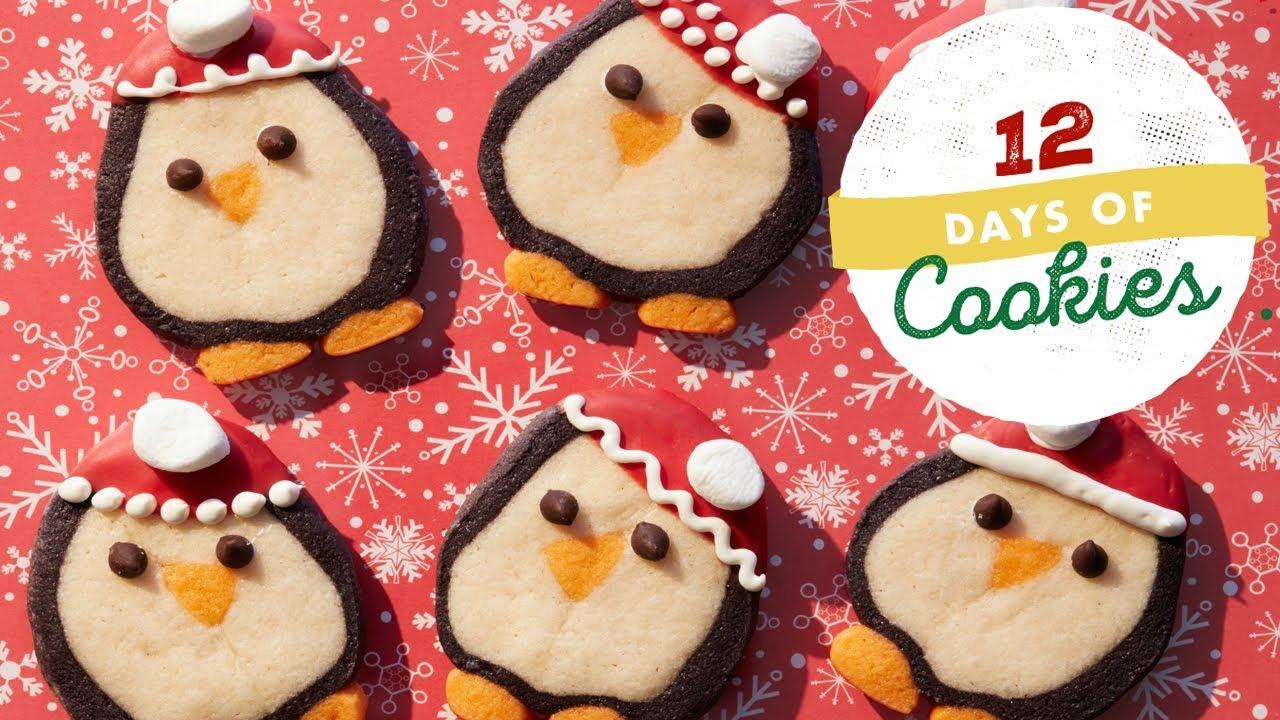 Penguin Slice And Bake Cookies Food Network