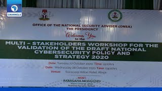 [FULL VIDEO] NSA Holds Workshop On National Cybersecurity