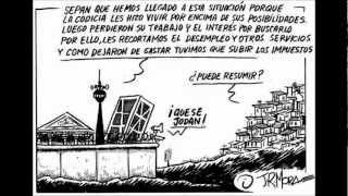 LA BANCA SIEMPRE GANA .SUR DE EUROPA 2013,ARGENTINA  2001 CORRALITO