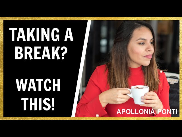 How To Act After Taking A Break In A Relationship |The SECRET That WINS Her Back!