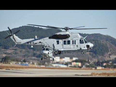 South Korean Marine Corps MUH-1 Marineon amphibious helicopter