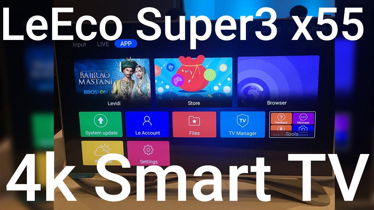 LeEco Super4 X55 TV - YouTube