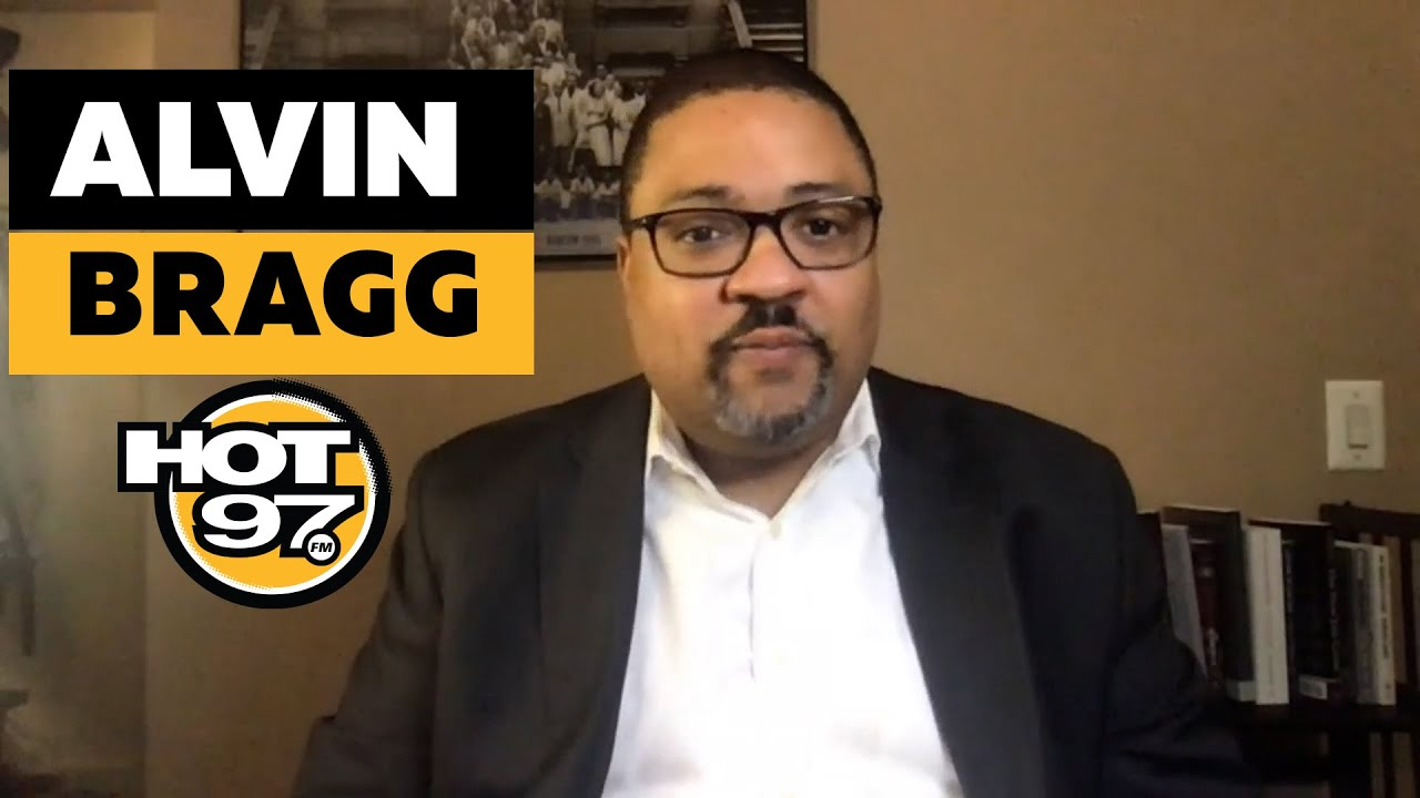 Candidate For NY DA, Alvin Bragg On Charging Donald Trump, Cy Vance + Dealing w/ Race Relations