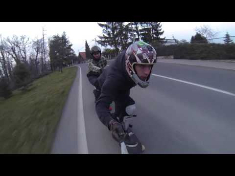 Zagreb Downhill Longboarding / Ex3me sport longboard crew