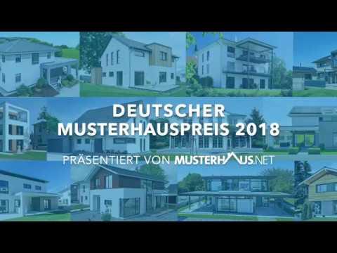 Abstimmung zum Deutschen Musterhauspreis 2018: Die schönsten Musterhäuser Deutschlands gesucht