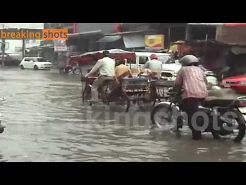 WATER LOGGING IN FARIDABAD CITY
