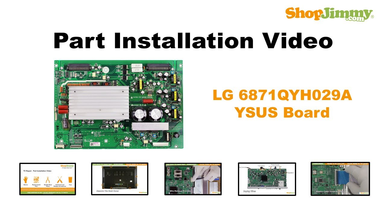 Lg Plasma Tv Replacement Parts | Reviewmotors co