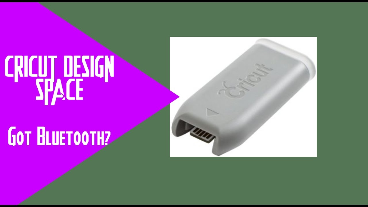 Cricut Explore Air and Explore One about the Bluetooth