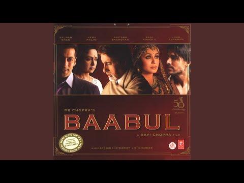 BAABUL BIDAAI SONG