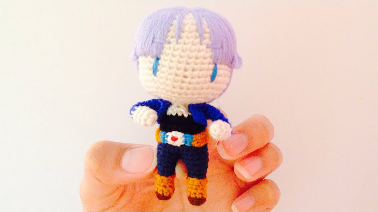 Crochet Trunks from Dragon Ball Z (Crochet Preview) - YouTube
