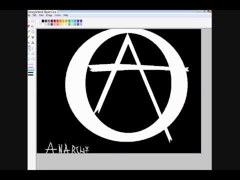 How To Make Anarchy Symbol Wigglez Youtube