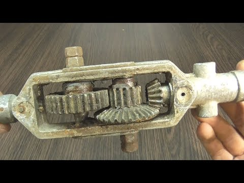 видео: Что можно сделать из старой ручной ДРЕЛИ