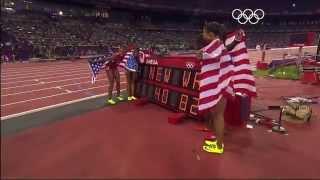 New World Record - USA 4 x 100m Gold | London 2012 Olympics