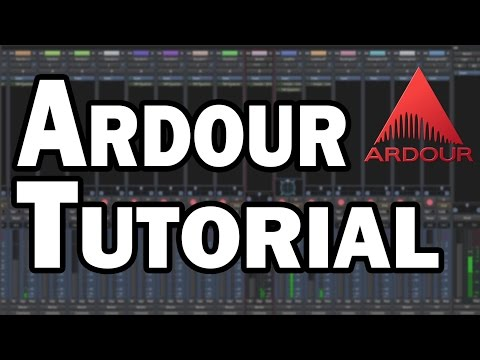 Ardour Tutorial - Digital Audio Workstation for Linux