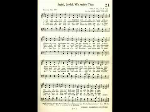 Joyful, Joyful, We Adore Thee (Ode to Joy) Beethoven Piano solo