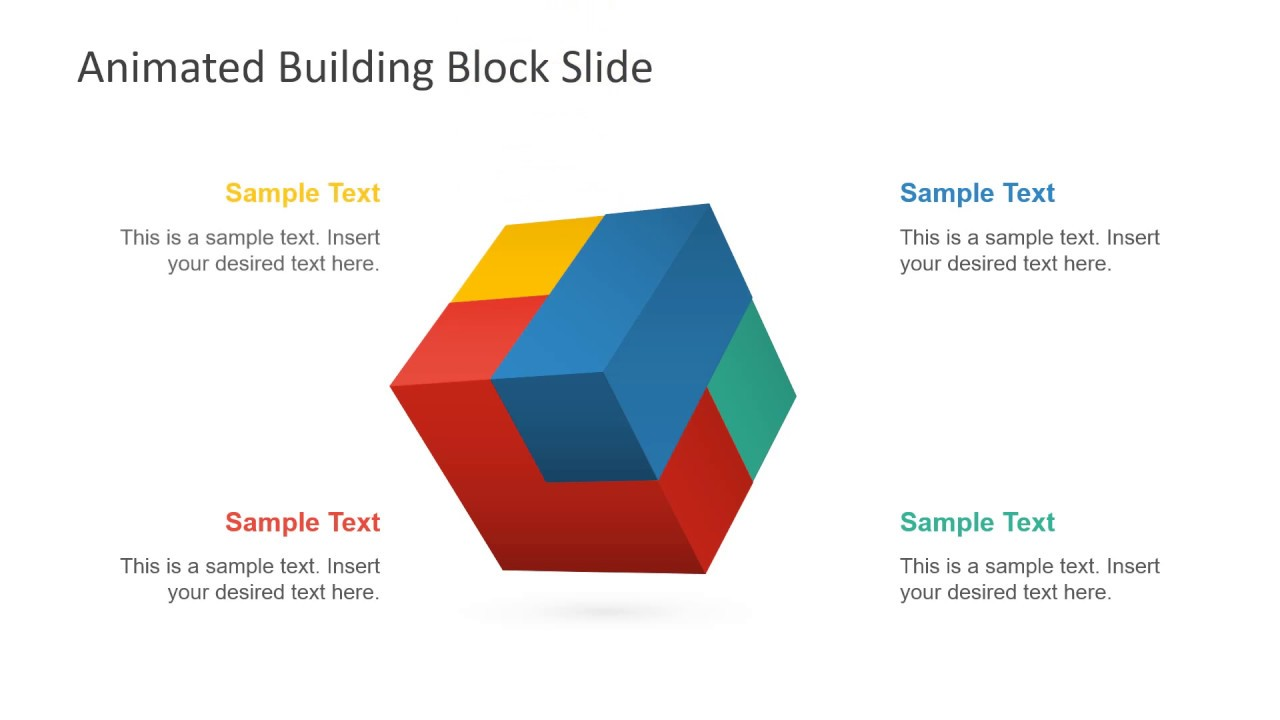 Animated Building Block Slides for PowerPoint - SlideModelSlideModel.com