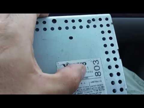 Замена магнитолы Volvo часть 2.