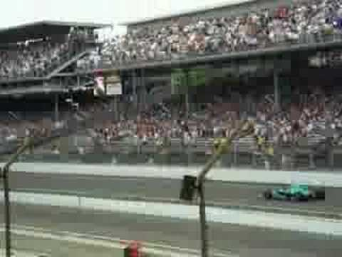 1st Roll Around at 2007 Indy 500