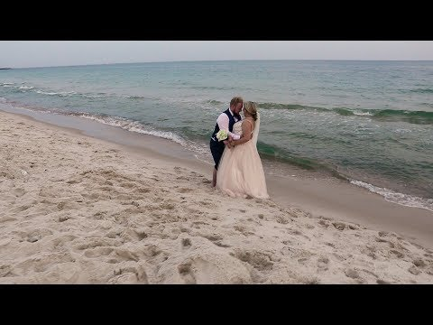 Beautiful Beach Wedding in Gulf Shores, AL