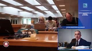Kur'An Araştırmaları Merkezi (KURAMER) - Kuramer Müdürü Prof. Dr. Ali Bardakoğlu