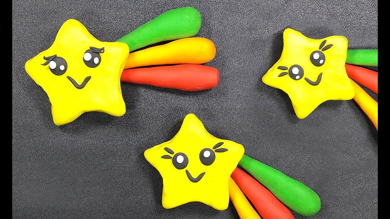 Clay Toys Making For Kids How To Make Clay Toys Little Star Clay