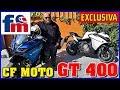 CF Moto GT 400 | Primeras impresiones en exclusiva
