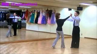 ヴェニーズワルツ③ 社交ダンス 初中級ステップ(Viennes Waltz for Pre-Intermediate) thumbnail