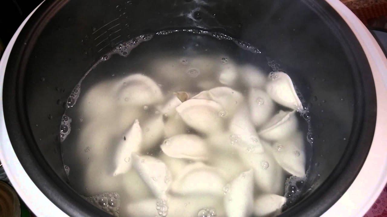 вареники варить в мультиварке