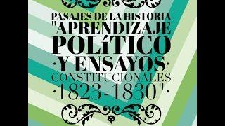 organizacin de la repblica y ensayos constitucionales 1823 1830