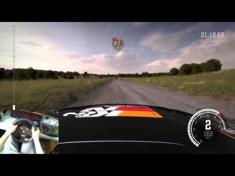 Dirt Rally Avec Logitech MOMO Racing Force Feedback Wheel Part 3