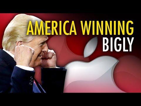 Trump tax cuts bring jobs back to America | Ezra Levant