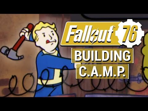FALLOUT 76: Everything We Know About BUILDING and C.A.M.P. in Fallout 76!!