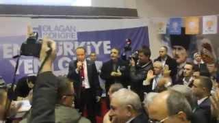 Çan Ak Parti İlçe Başkanı Seçim Sonu Teşekkür Konuşması