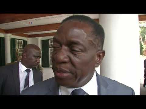 Zimbabwe VP Neutral On Mugabe's Removal of Him, Pick of New Blood