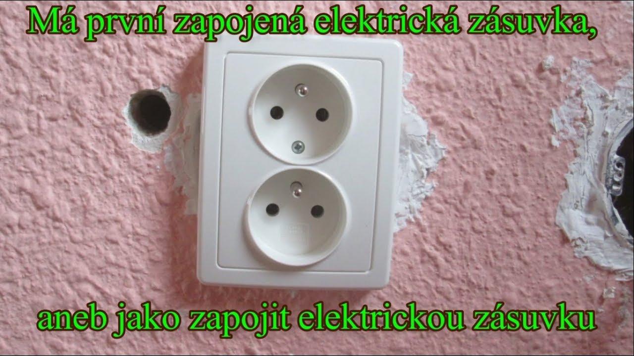 Pripojiť elektrickú zásuvku