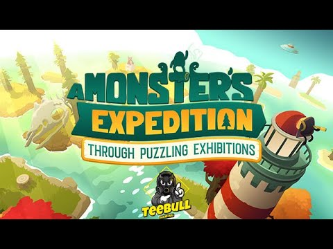 A Monsters Expedition Through Puzzling Exhitions New Puzzle Game Youtube