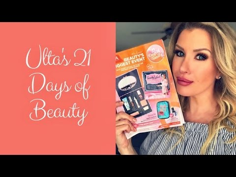 Ulta 21 Days of Beauty 2017: Recommendations + Tips for Getting the Things You Really Want! - 동영상