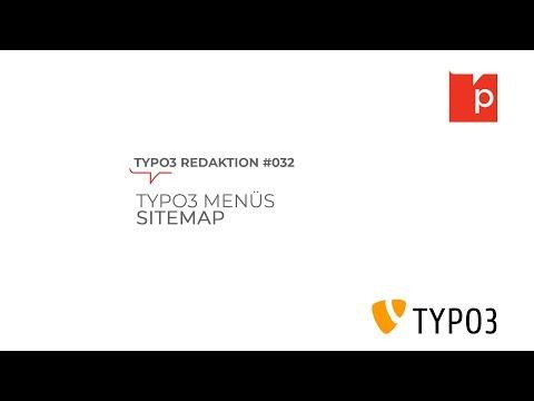 TYPO3#032 TYPO3 Menüs: Sitemap