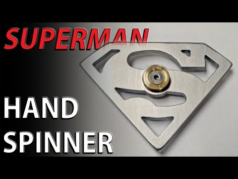 SUPERMAN hand spinner fidget toy - by popular request