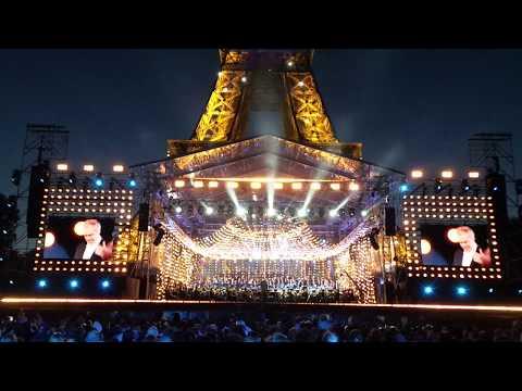 """Le Concert de Paris, Bastille Day """"Chariots of Fire (Les chariots de Feu)"""" Vangelis - July 14, 2017"""
