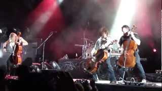 Apocalyptica - Not Strong Enough [Monterrey Enero.2012]